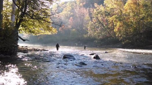 The ever beautiful Rocky River