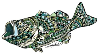 Zentangle Largemouth