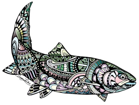 Zentangle Steelhead